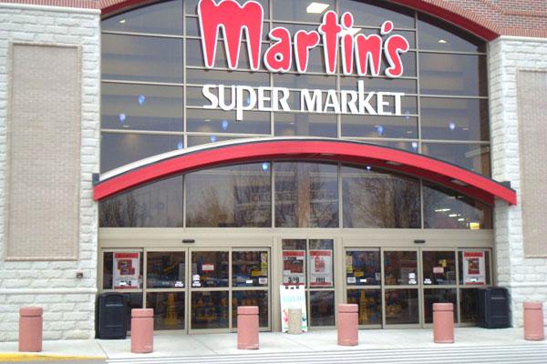 Automatic Sliding Doors at Martin's Supermarket